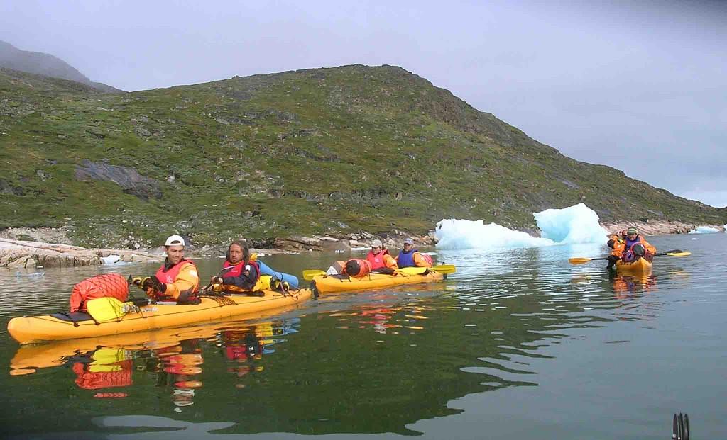 viatges a Groenlàndia, extensions d'Islandia aventura hotel i caiac 5 dies
