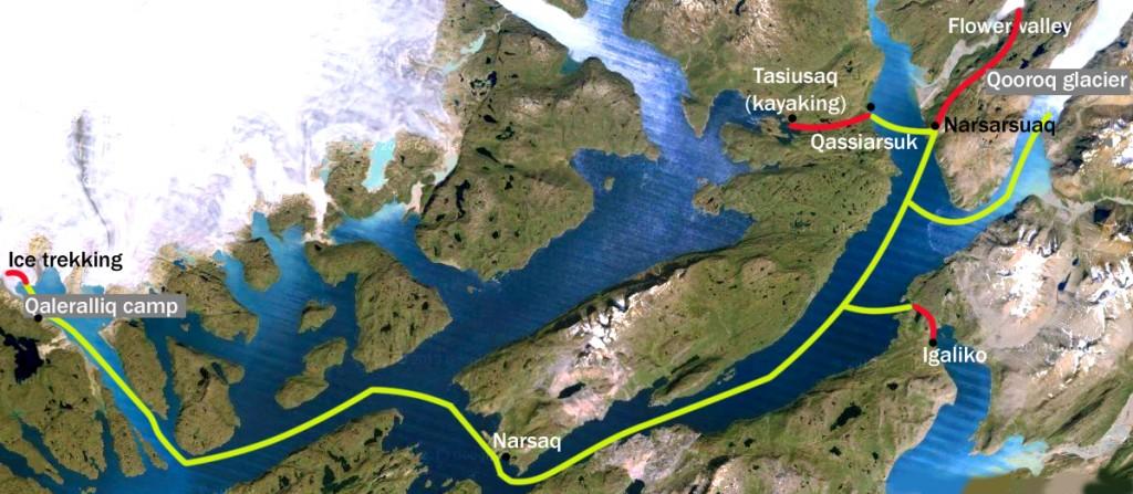 meravelles de groenlàndia mapa
