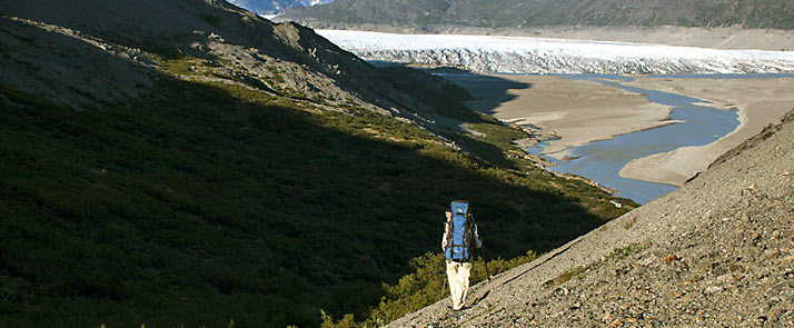 Groenlandia, trekking del Black River