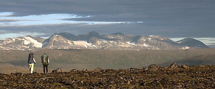 Groenlandia, treeking del Black River