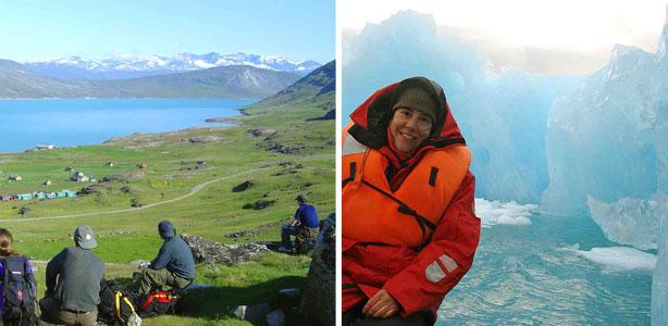 viatges a Groenlàndia, trèkking a igaliko i qooroq icebergs