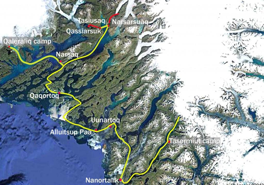 mapa el millor groenlàndia