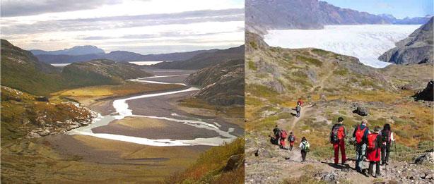 Vall de les Mil Flors, glacera Kiattuut. Groenlàndia